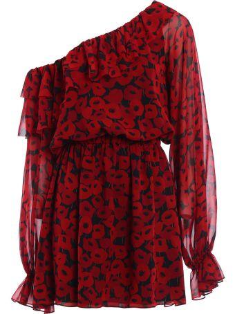 Saint Laurent Poppy Dress