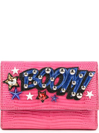 Dolce & Gabbana Printed Boom French Flap Wallet
