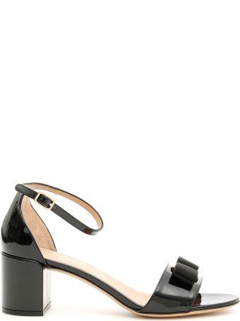 Salvatore Ferragamo Patent Gavina 55 Sandals