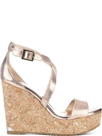 Jimmy Choo Portia Wedge Sandals