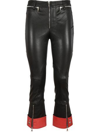 Alexander McQueen Zip Detail Trousers