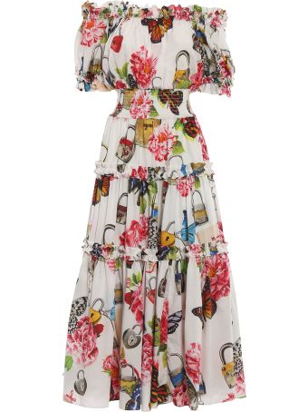 Dolce & Gabbana S/s Popeline Dress