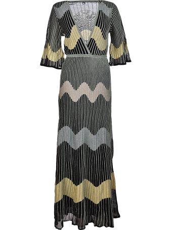 Missoni V-neck Long Dress