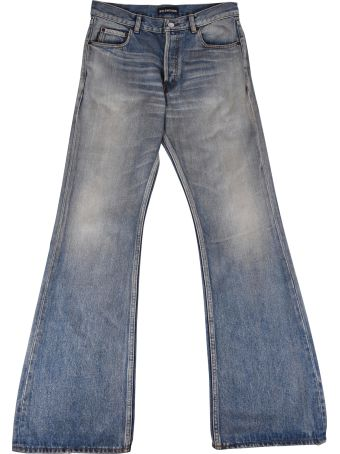 Balenciaga Bootcut Denim Pants
