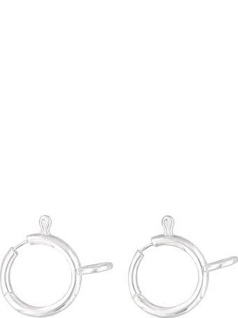 AMBUSH Small Clasp Earrings
