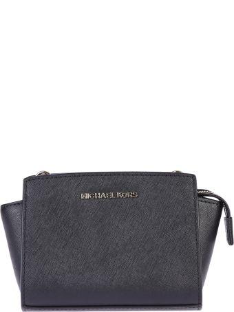 Mini Selma Saffiano Leather Shoulder Bag