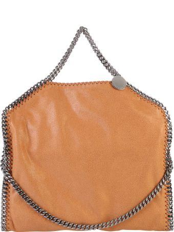 Stella McCartney Brown Falabella Triple Chain Bag