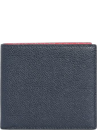 Thom Browne Bifold Leather Wallet