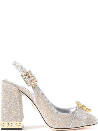 Dolce & Gabbana Soft Lurex Slingback