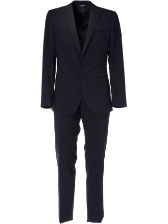 Dolce & Gabbana Fitted Formal Suit