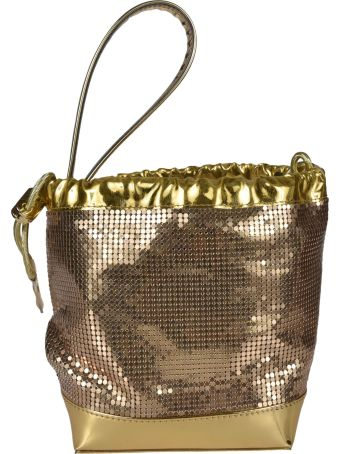 Paco Rabanne Chainmail Grab Handle Buckle Bag