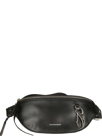 Alexander McQueen Logo Zipped Belt Bag