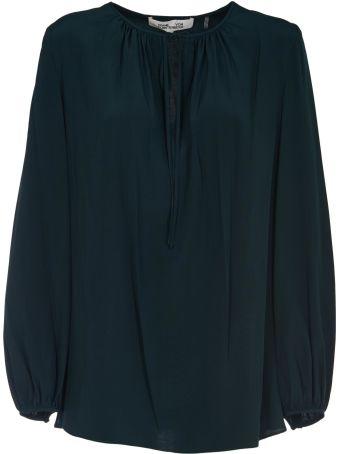Diane Von Furstenberg Classic Oversized Blouse