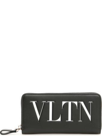 Valentino Vltn Zip-around Wallet