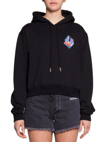 Off-White Microenviroment Cotton Hoodie