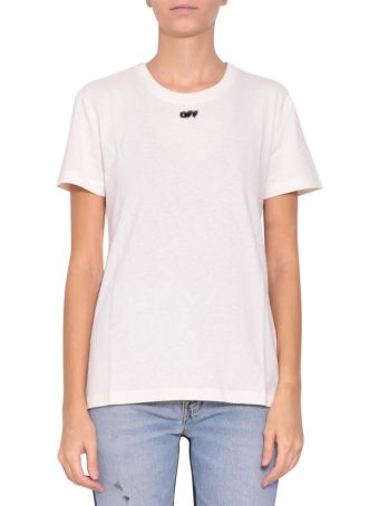 Off-White Arrow Cotton T-shirt
