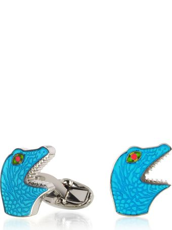 Paul Smith Blue Dino Cufflinks