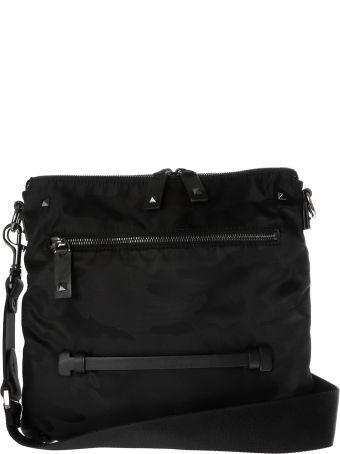 Valentino Camo Print Shoulder Bag
