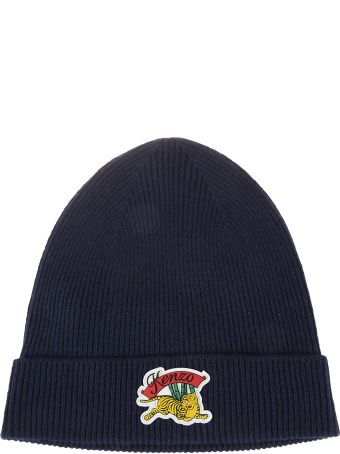 Kenzo Embroidered Tiger Beanie