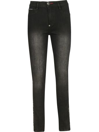 Philipp Plein Star High-rise Skinny Jeans