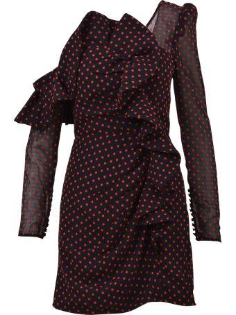 self-portrait Mini Dress  In Plumetis