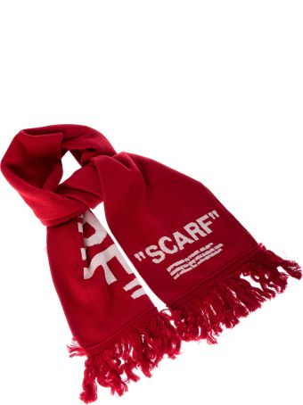Off-White Quote Scarf