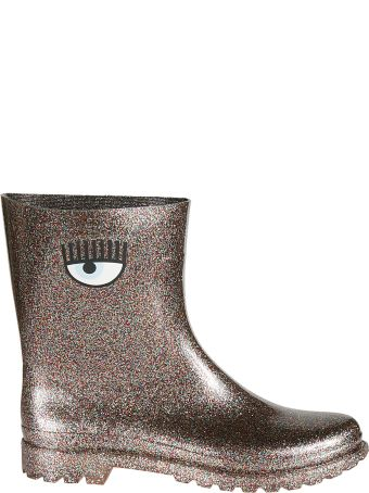 Chiara Ferragni Glittery Rain Boots