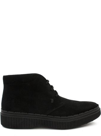 Tod's Black Ankle Boots.