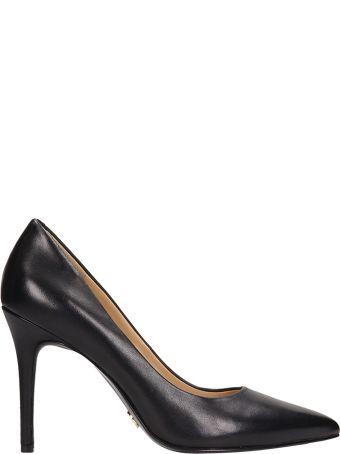 Michael Kors Black Leather Claire Decollete