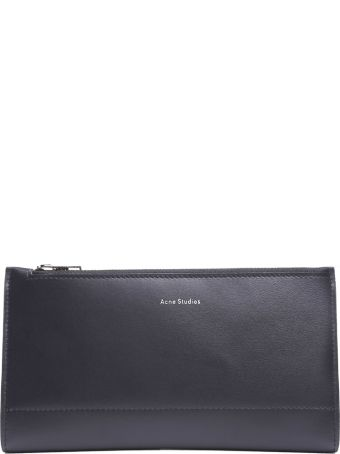 Acne Studios Logo-print Smooth-leather Wallet
