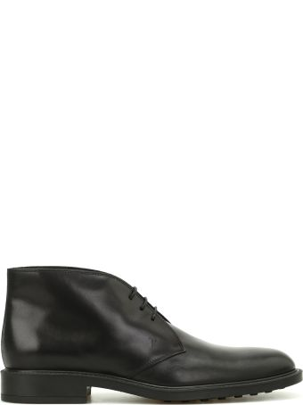 Tod's Leather Desert Boots