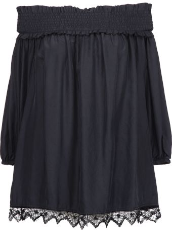 Parosh Parosh Off The Shoulder Blouse