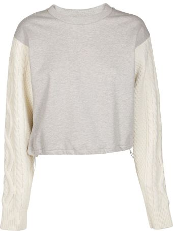 3.1 Phillip Lim Cropped Sweatshirt