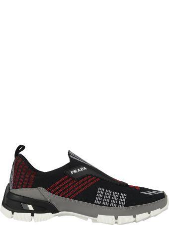 Prada Graphic Detailed Sneakers
