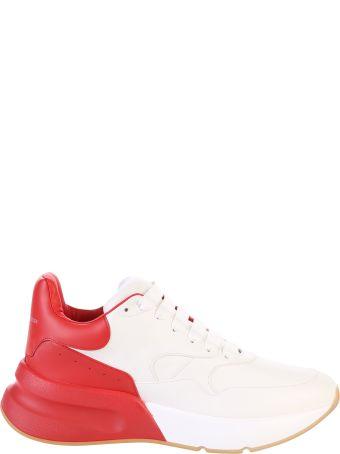 Alexander McQueen White Branded Sneakers