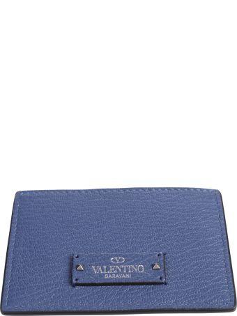 Blue Branded Cards Holder