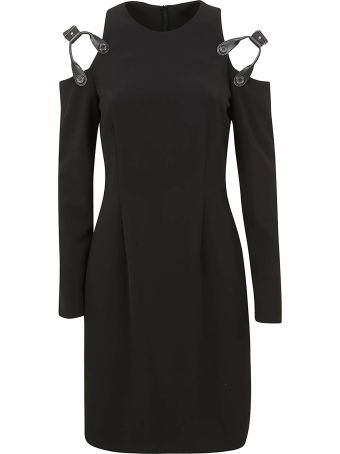Moschino Harness Shoulder Dress