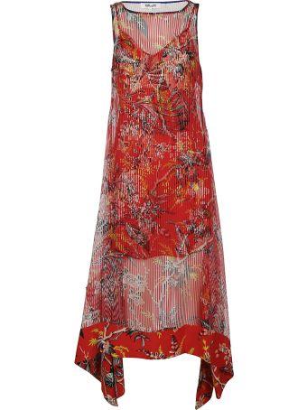 Diane Von Furstenberg Sheer Stripe Dress