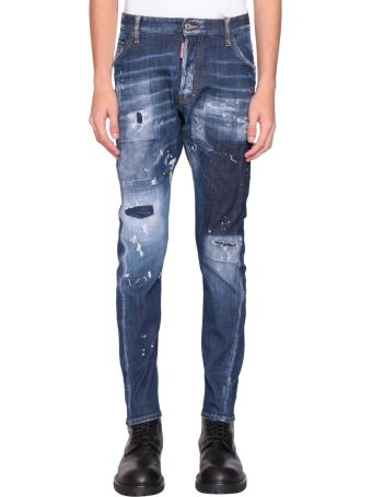 Dsquared2 Classic Kenny Cotton Denim Jeans