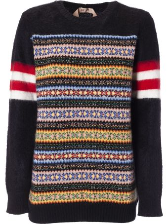 N.21 Embroidered Sweater