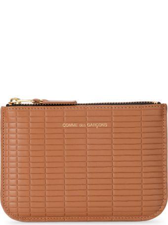 Comme des Garçons Wallet Brick Line Leather Purse