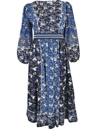 Ulla Johnson Floral Midi Dress