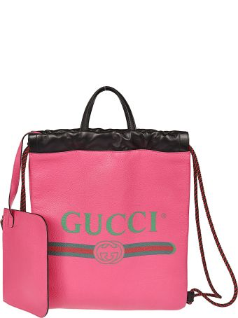 Gucci Small Drawstring Backpack