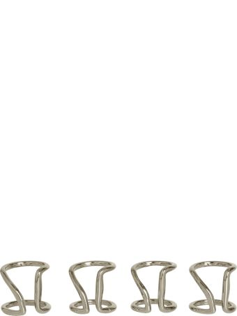 Maison Margiela Silver Ring Set