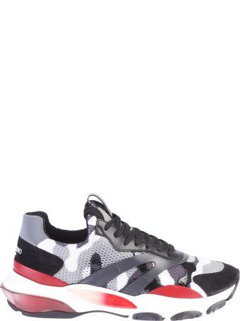 Valentino Garavani Multicolored Branded Sneakers