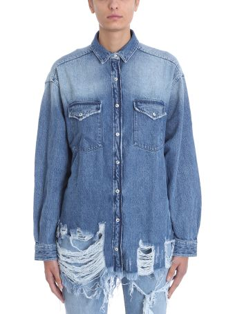 IRO American Blue Denim Shirt