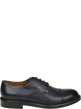 Doucal's Derby In Blue Leather