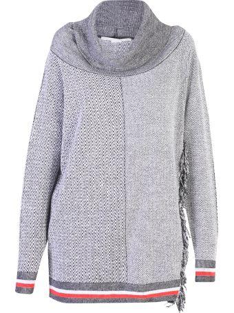 Stella McCartney Grey Oversized Sweater