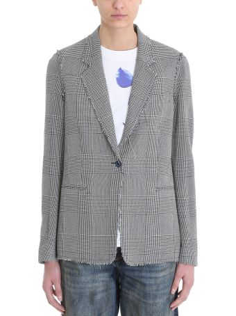 Golden Goose Irma Prince Of Wales Checked Jacket