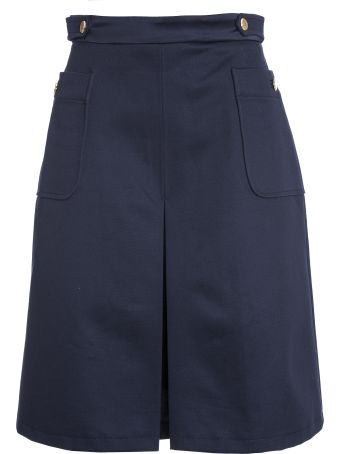A.P.C. Catherine Skirt In Blue